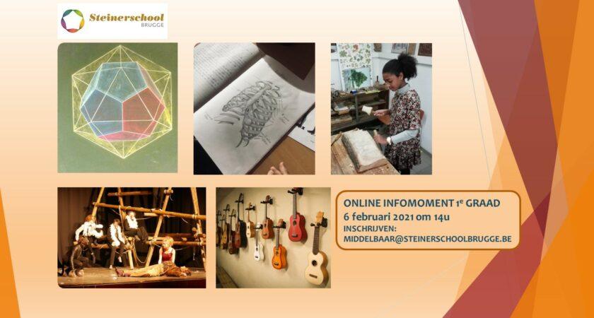 Online Infomoment 1e Graad
