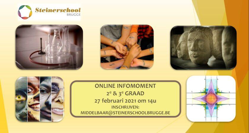 Online Infomoment 2e en 3e Graad